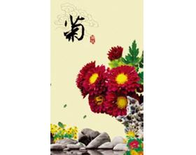 产品名称:电暖画菊